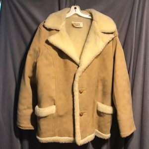 Town and ranch barn jacket rare vintage coat USA